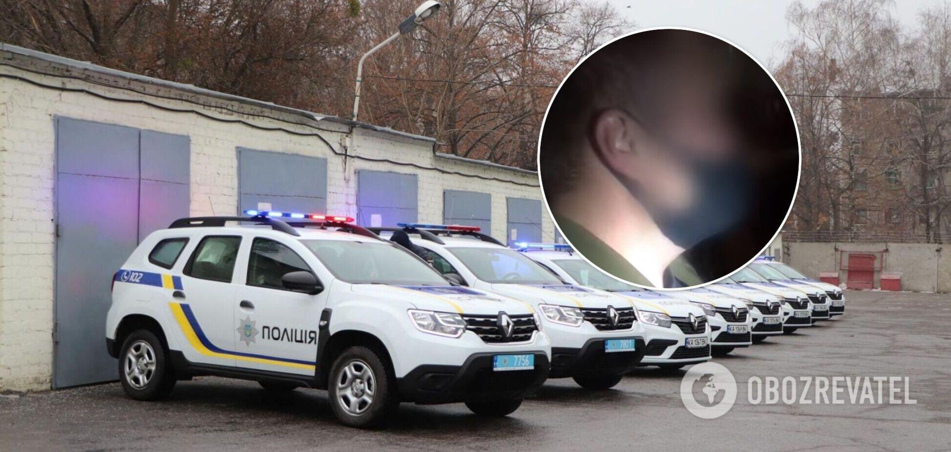 В Киеве полицейский ограбил мужчину