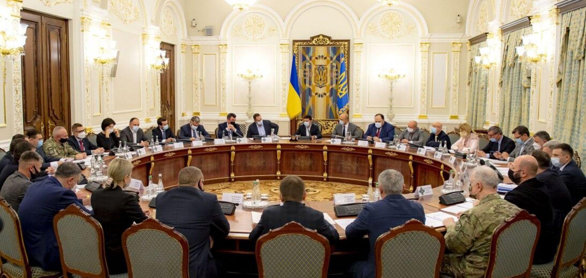 У Зеленского сообщили, состоится ли заседание СНБО