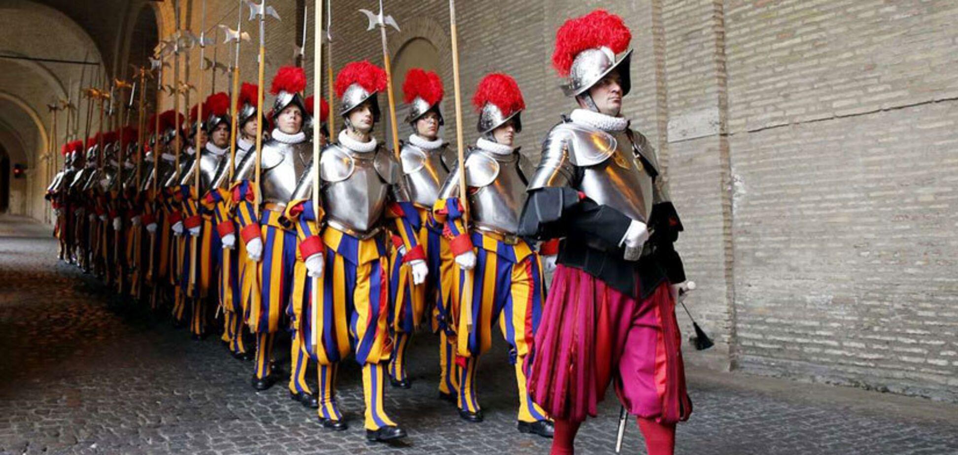 34 нових гвардійці Папи Римського склали присягу