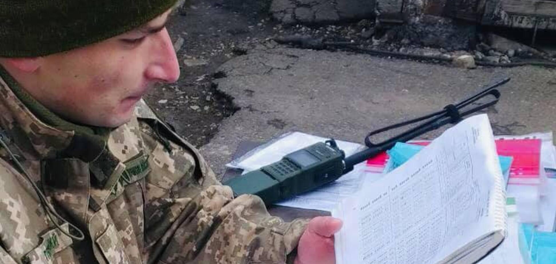 Ветеран ООС Андрій Пекельний