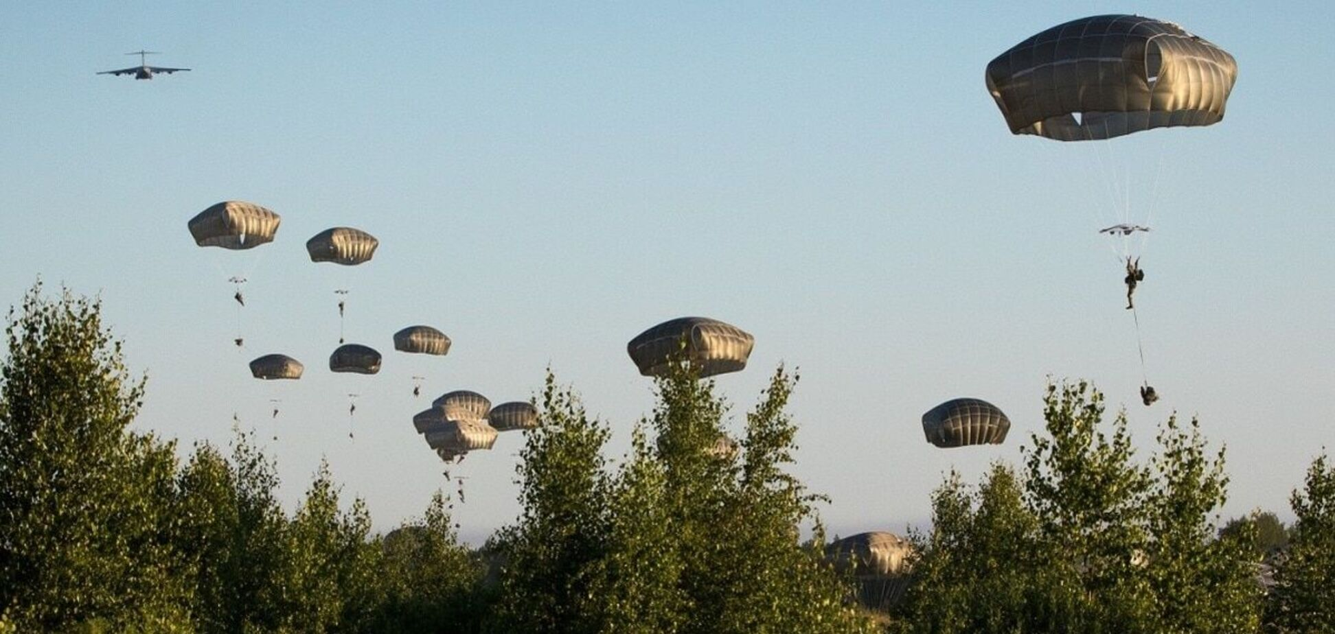 США висадили десант в Естонії в межах найбільших за 25 років навчань. Відео