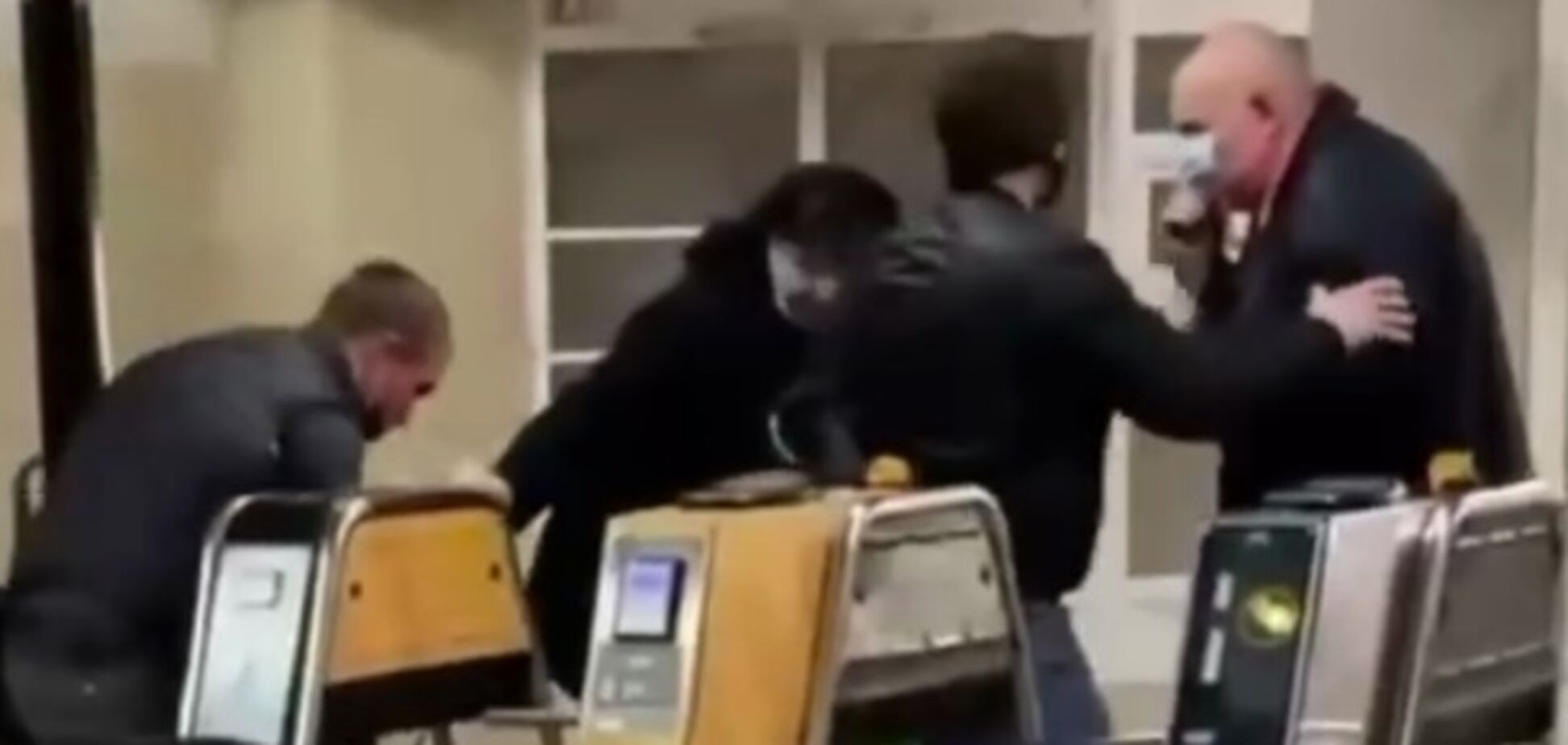 Бійка в київському метро