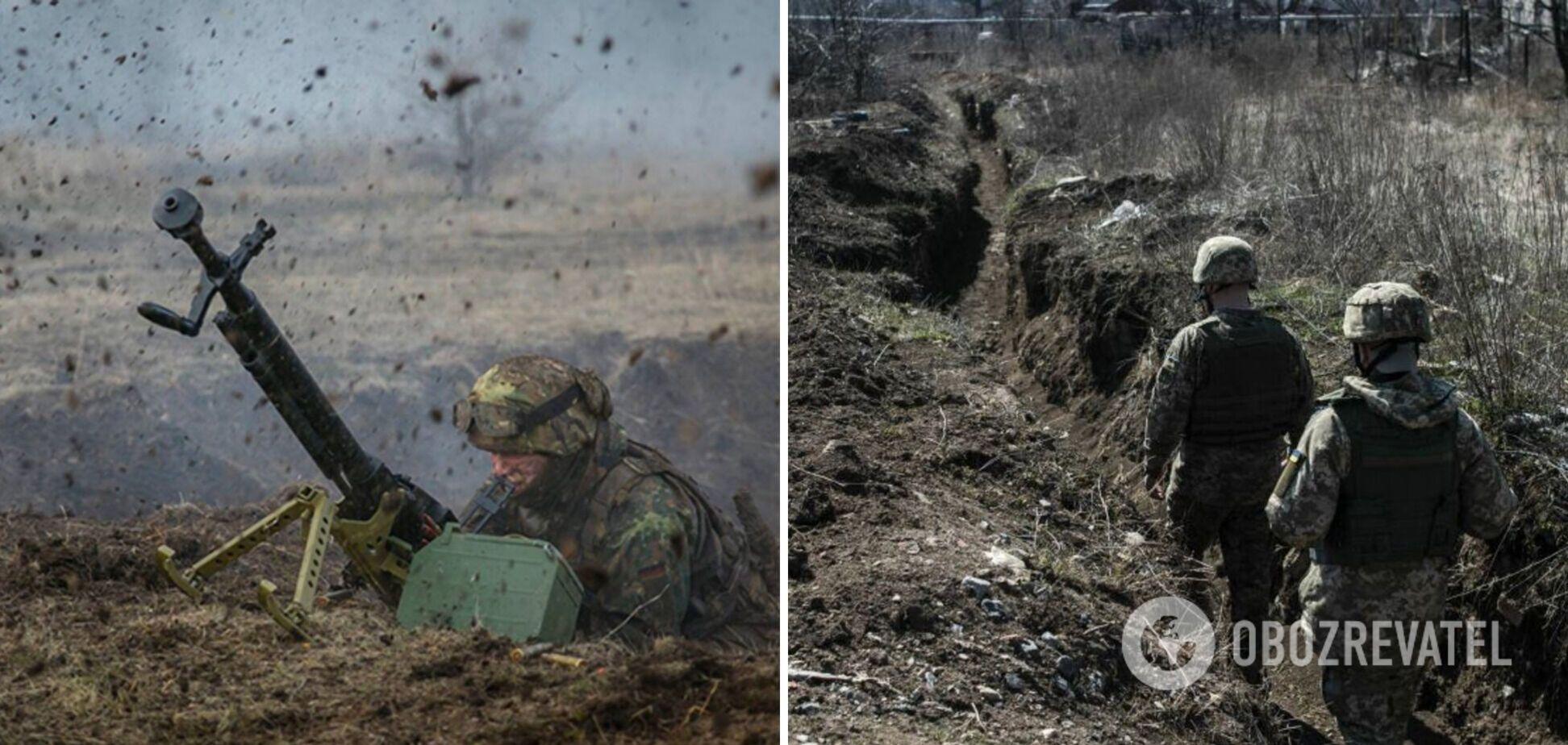 Російські окупанти п'ять разів атакували позиції ЗСУ – ООС