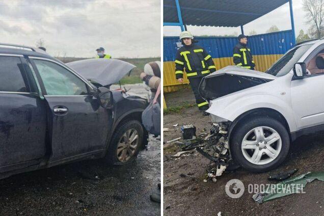 На Харьковщине произошло лобовое смертельное ДТП. Видео