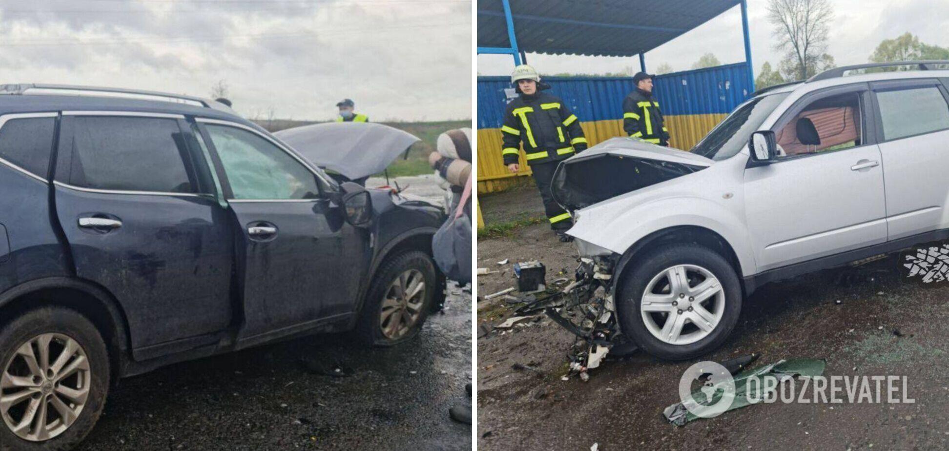 На Харківщині сталася лобова смертельна ДТП. Відео