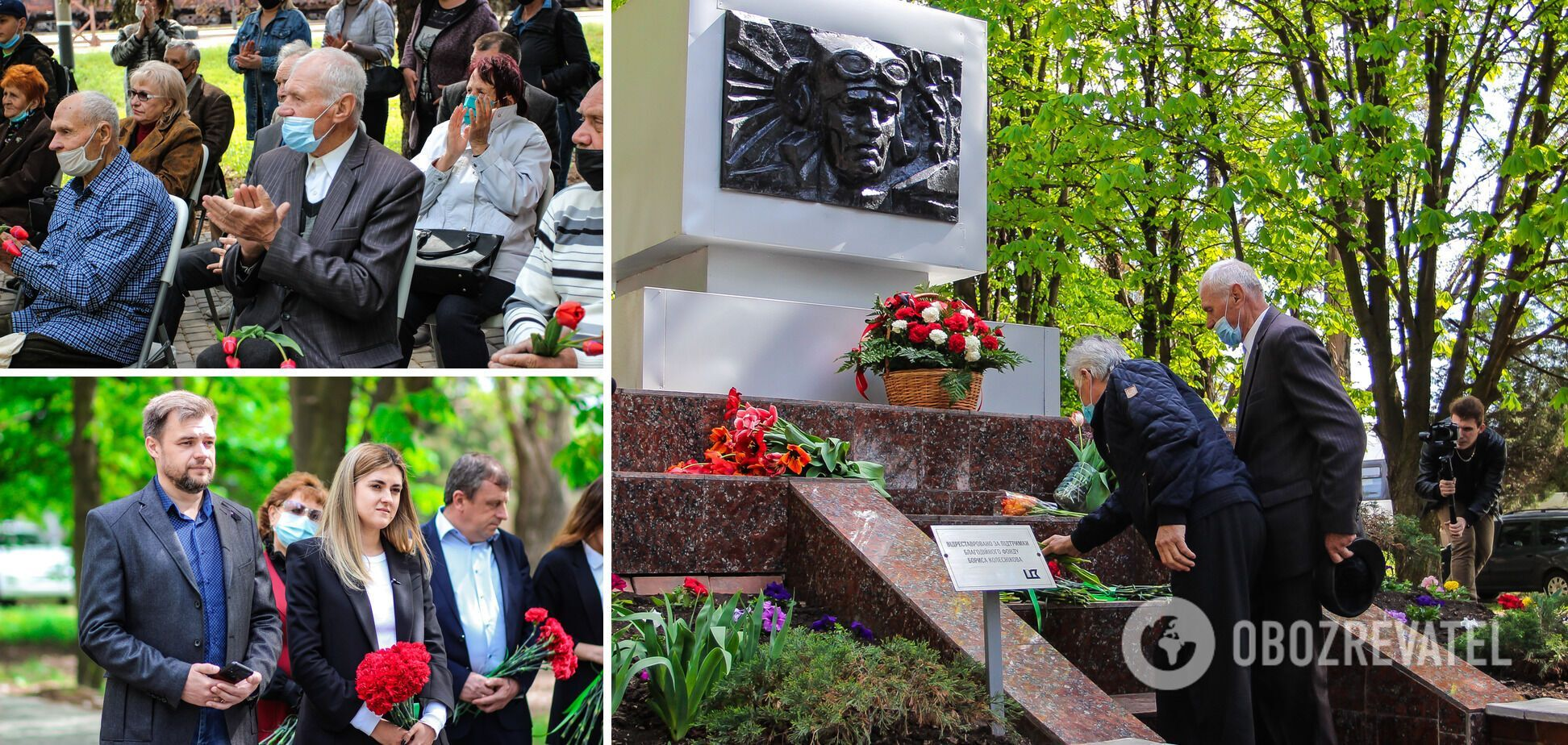 Фонд Бориса Колеснікова та Тетяна Бахтєєва провели акцію, присвячену Дню Перемоги