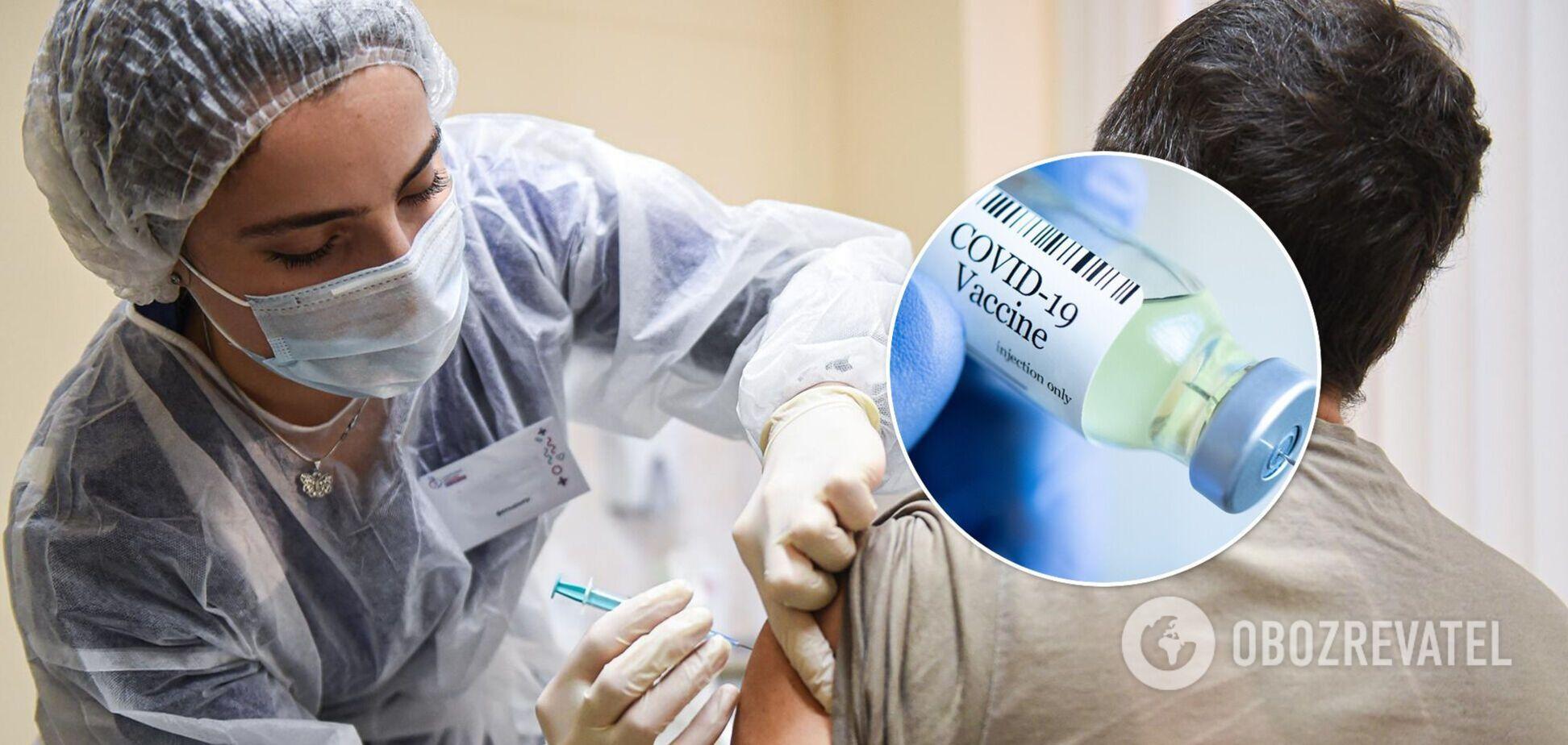 В Україні від коронавірусу вакцинували ще 36 тисяч осіб: де найменше