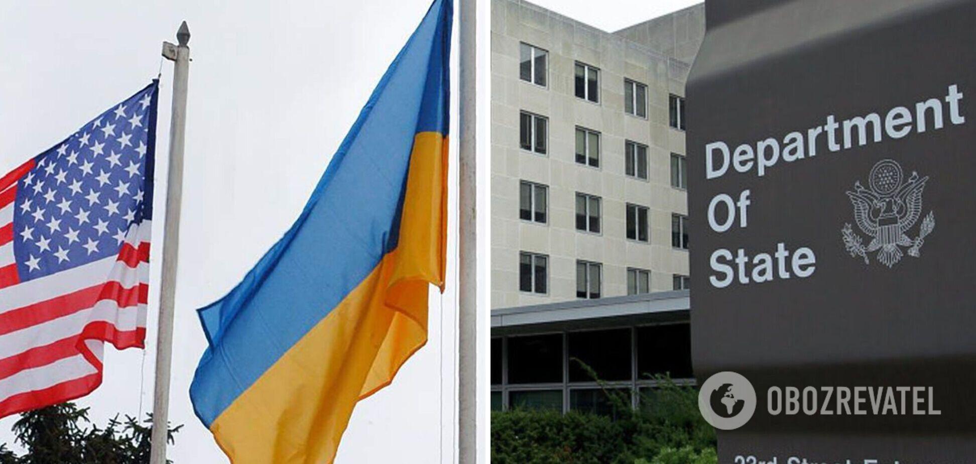 США готовы усиливать партнерство с Украиной в сфере безопасности– Госдеп
