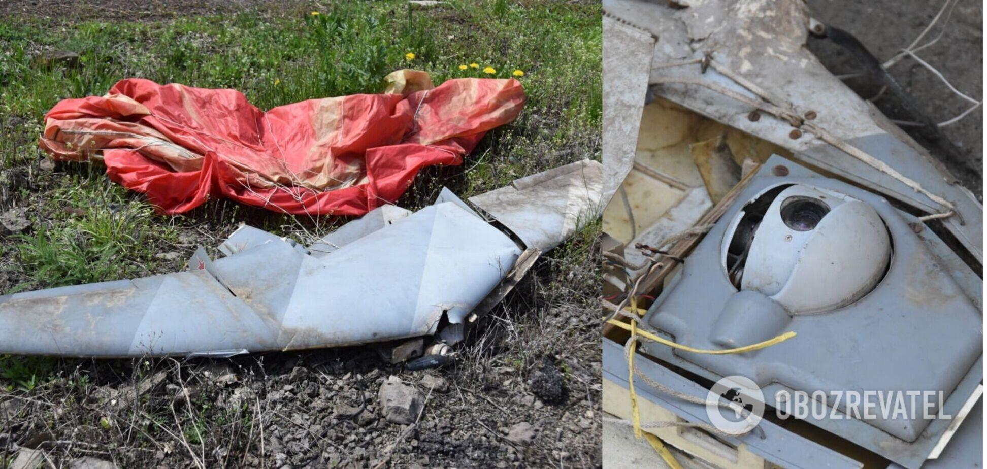 ЗСУ на Донбасі збили ворожі безпілотники, виготовлені в РФ. Фото