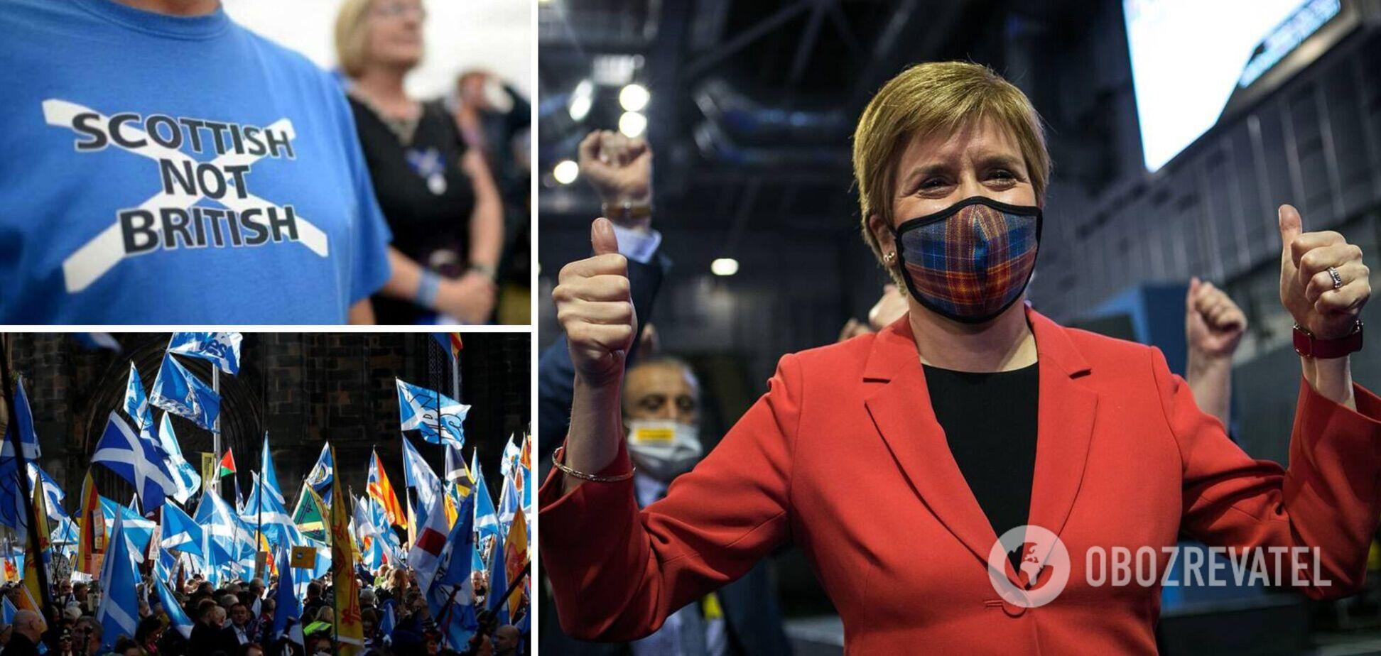 В Шотландии сторонники независимости победили на выборах и потребовали новый референдум