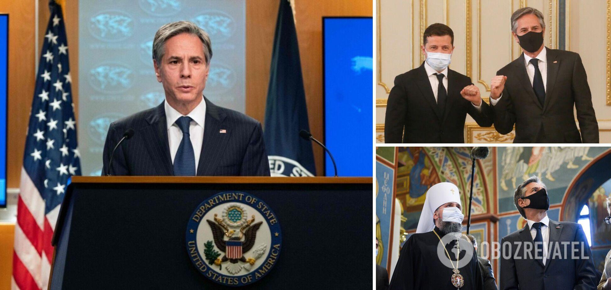 Візит Блінкена до України: 'кисло-солодке частування' від держсекретаря США