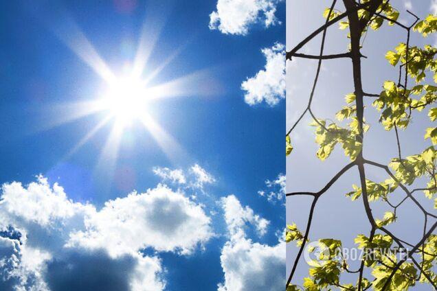 В Украине потеплеет до +15: погода на 9 мая