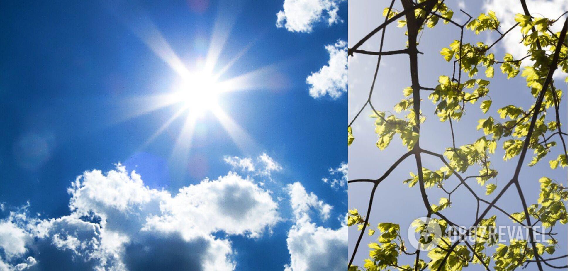 В Україні потеплішає до +15: погода на 9 травня