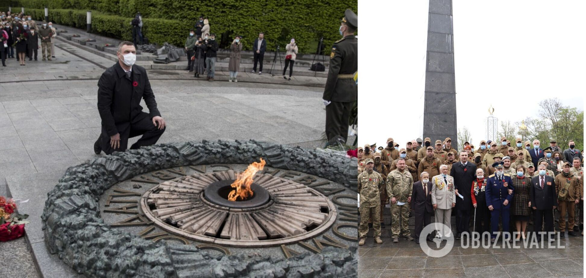 День перемоги над нацизмом у Другій світовій в Києві: онлайн-трансляція, фото і відео