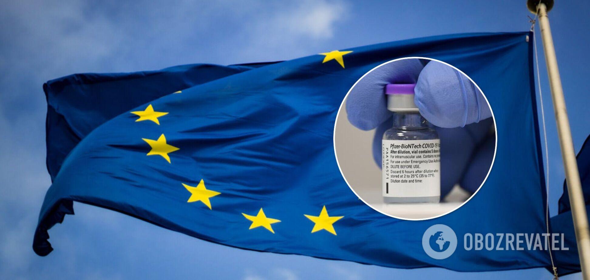 Еврокомиссия подписала контракт на поставку 1,8 млрд доз вакцины Pfizer