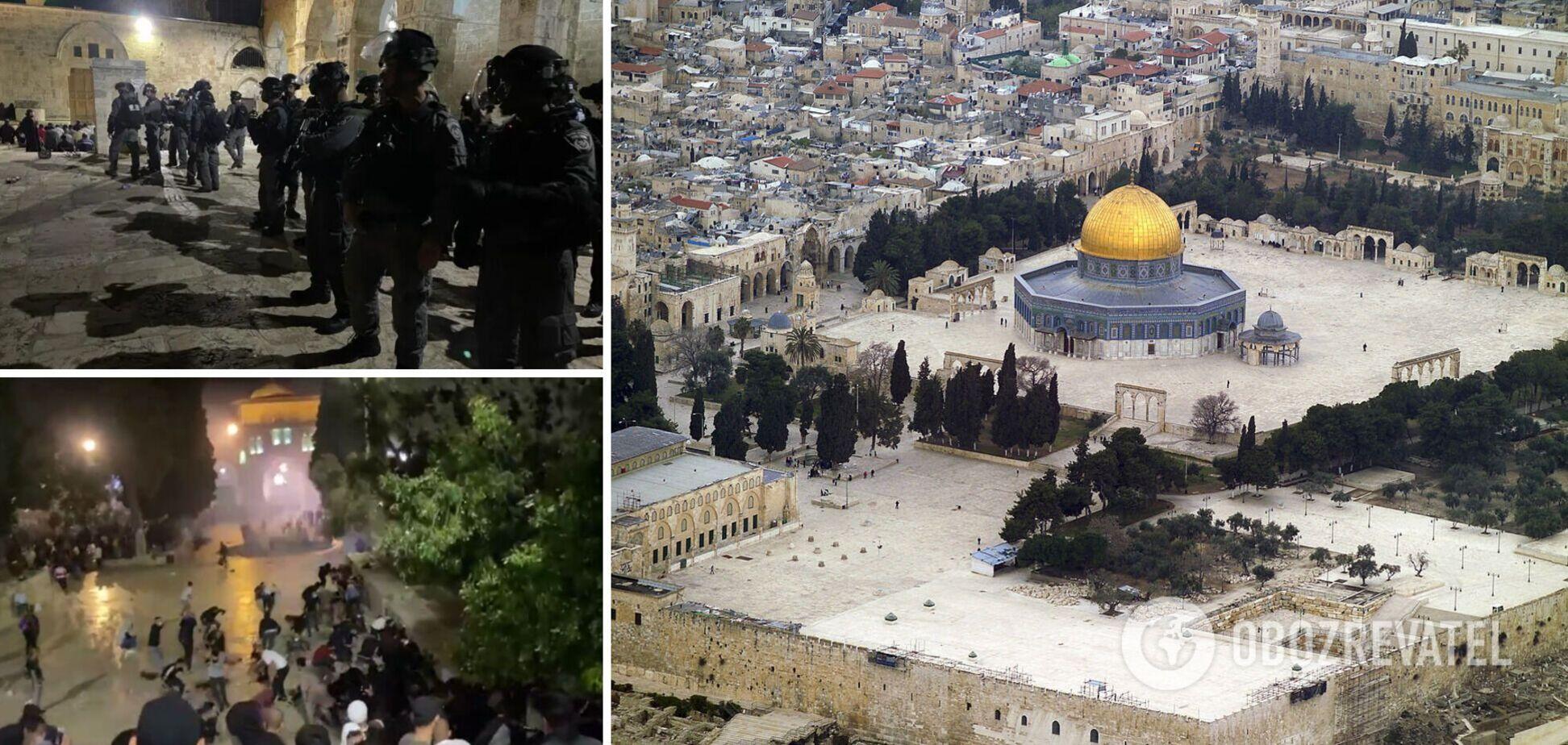 В Ізраїлі сталися сутички між палестинцями та поліцією: ЗМІ повідомили про дві сотні потерпілих. Фото та відео