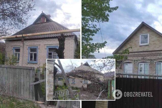 Боевики обстреляли жилые районы Марьинки из противотанковых пушек. Фото