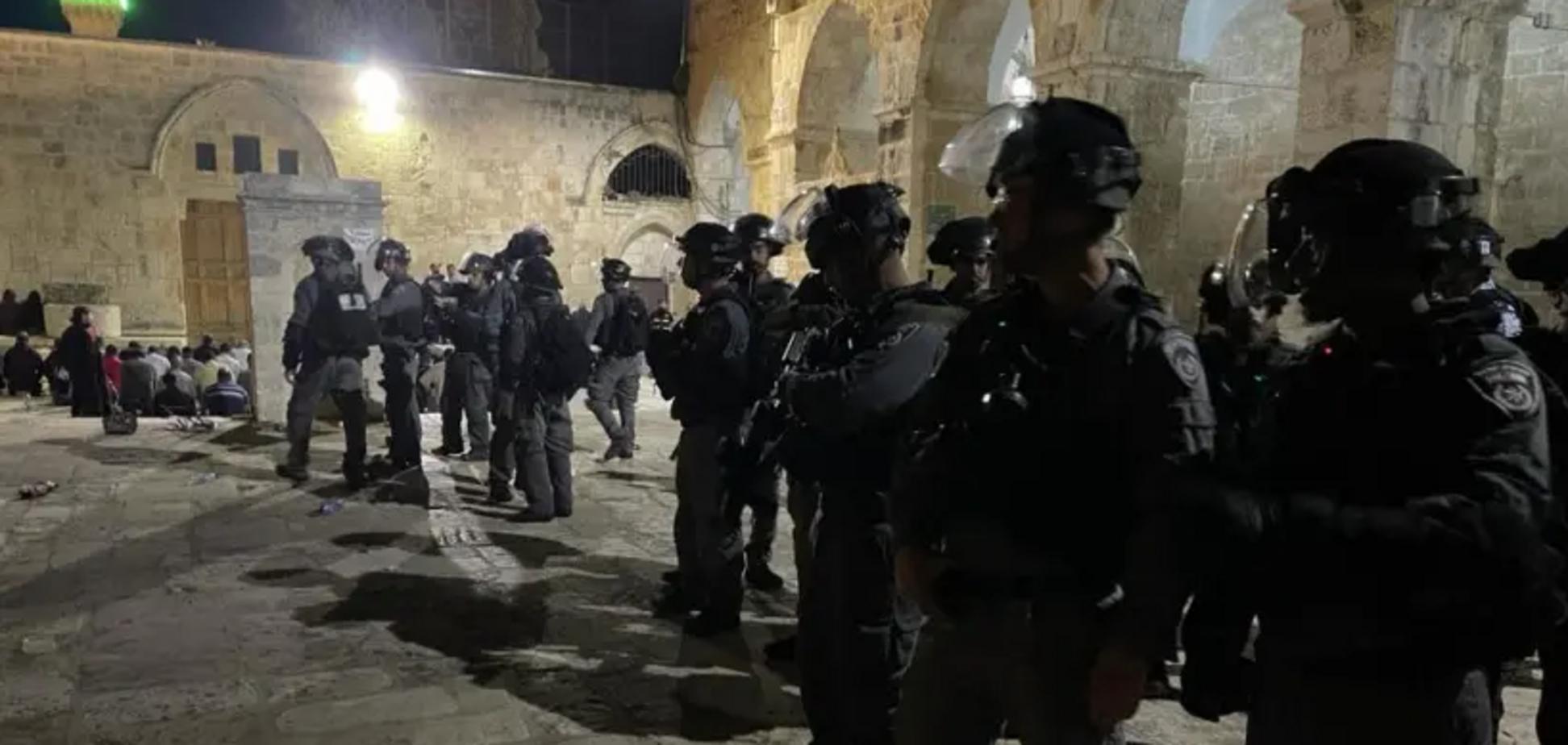 В Иерусалиме из-за столкновений пострадали около 200 человек