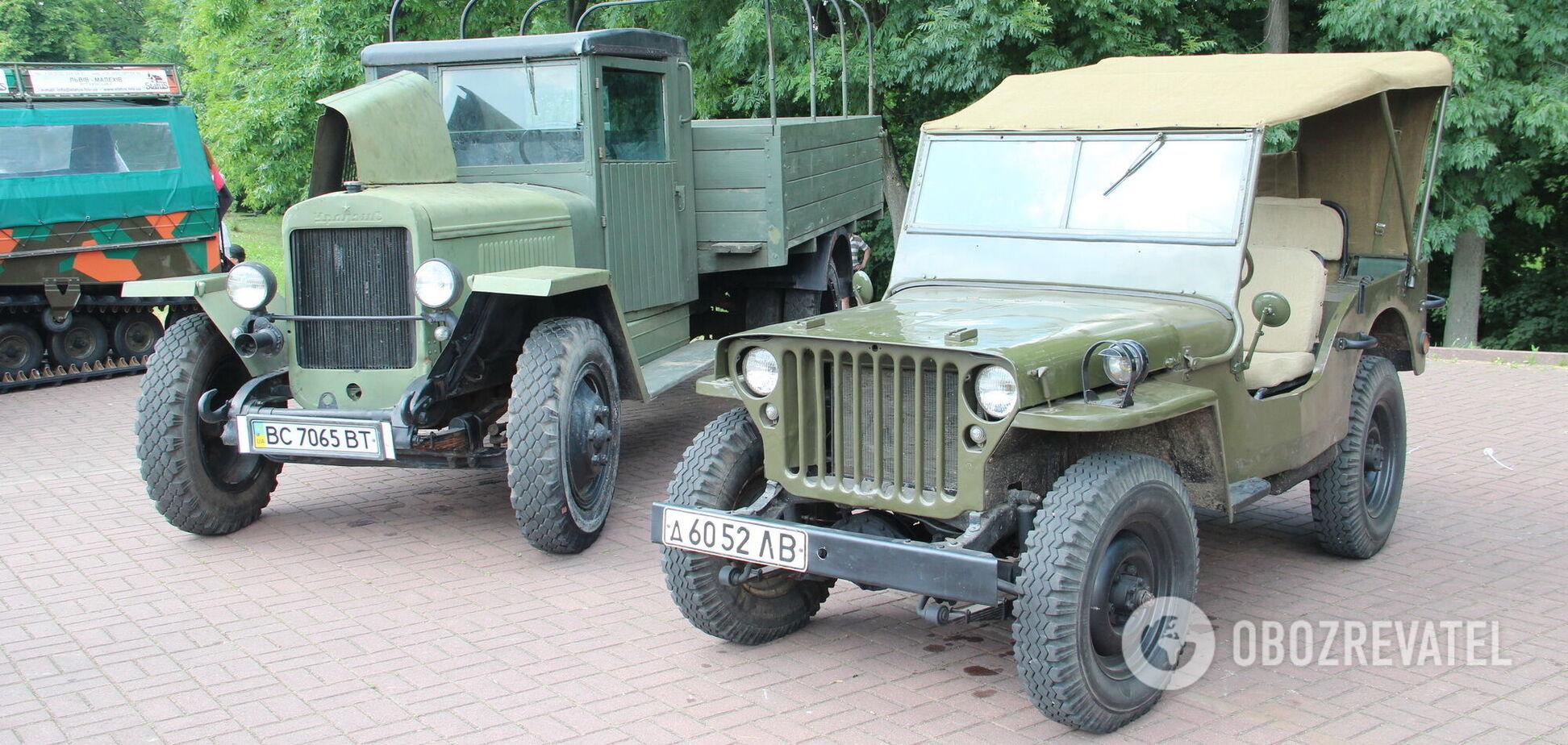 Згадуємо автомобілі, який допомогли здобути перемогу над нацизмом
