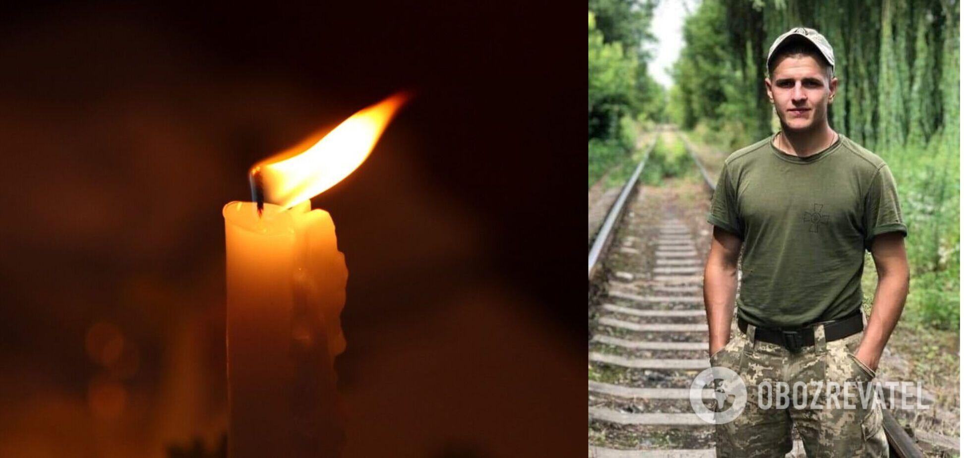 На Житомирщине простились с погибшим на Донбассе молодым воином ВСУ. Фото