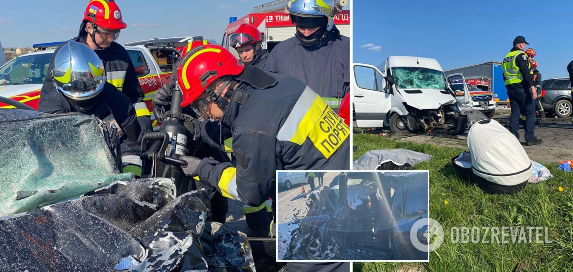 На трассе Киев – Чоп столкнулись Mercedes-Benz и Audi: среди погибших – ребенок. Фото 18+