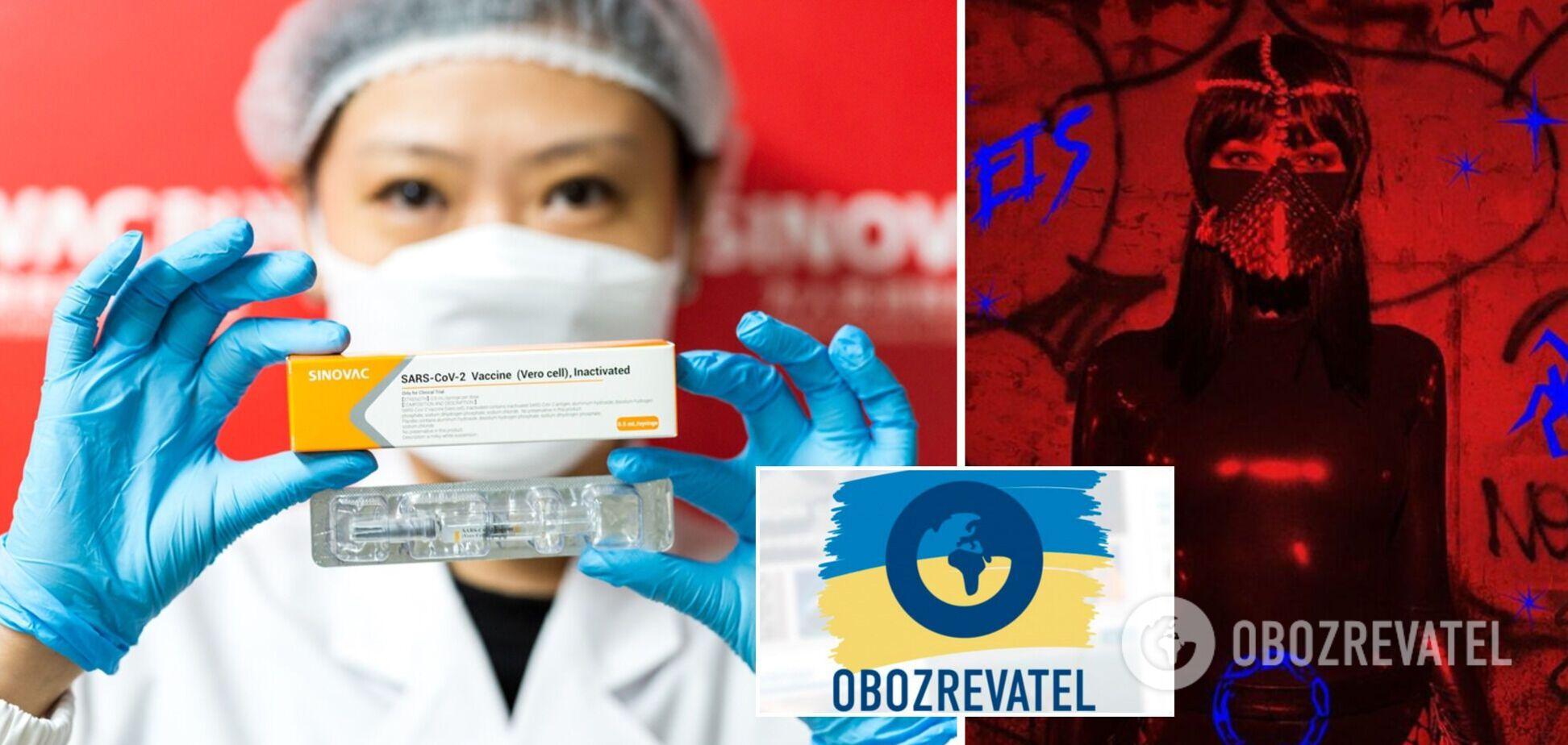 Новости Украины: из Китая прибыло еще 500 тысяч доз вакцины, а жена Лещенко выступила в Москве