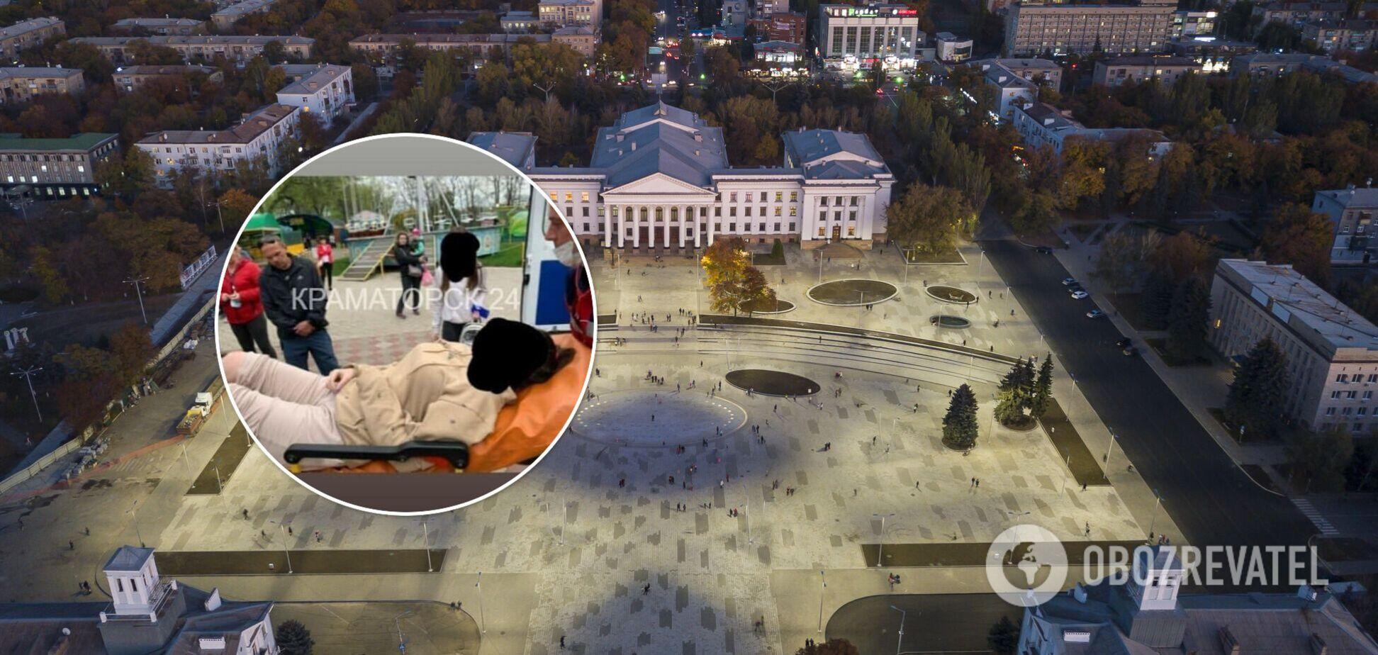 У Краматорську люди травмувалися на атракціоні: відео НП