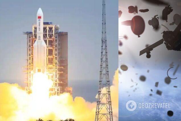 Падение на Землю неуправляемой китайской ракеты: обнародован новый прогноз