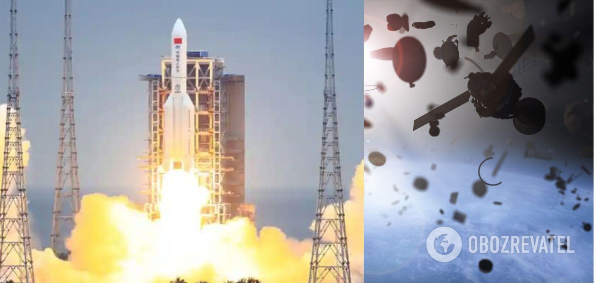 Падіння на Землю некерованої китайської ракети: оприлюднено новий прогноз