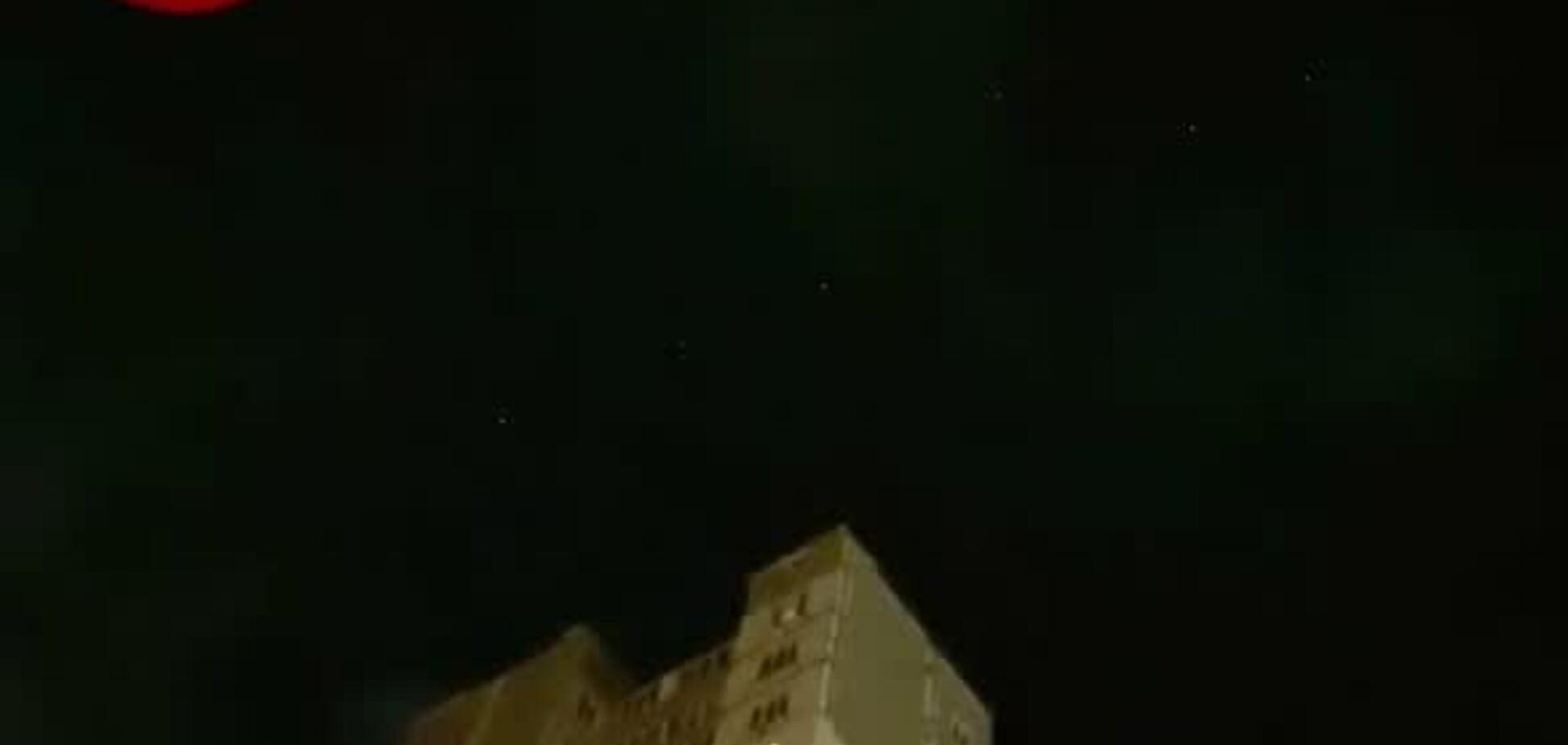 У Києві зафільмували парад супутників Маска