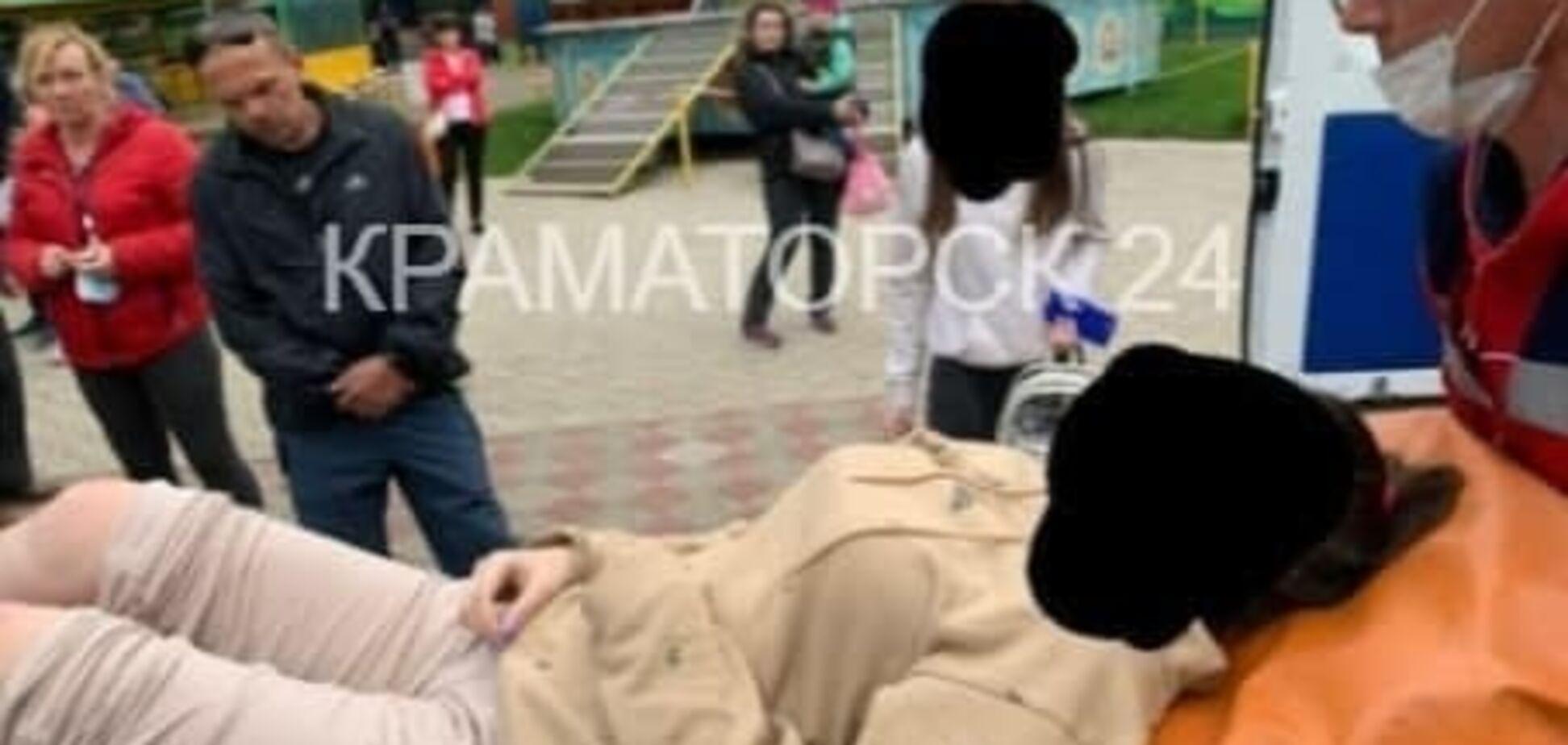 У Краматорську люди травмували ноги на атракціоні в міському парку