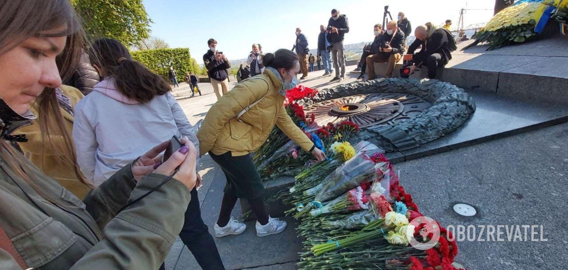 В Киеве отмечают День победы над нацизмом