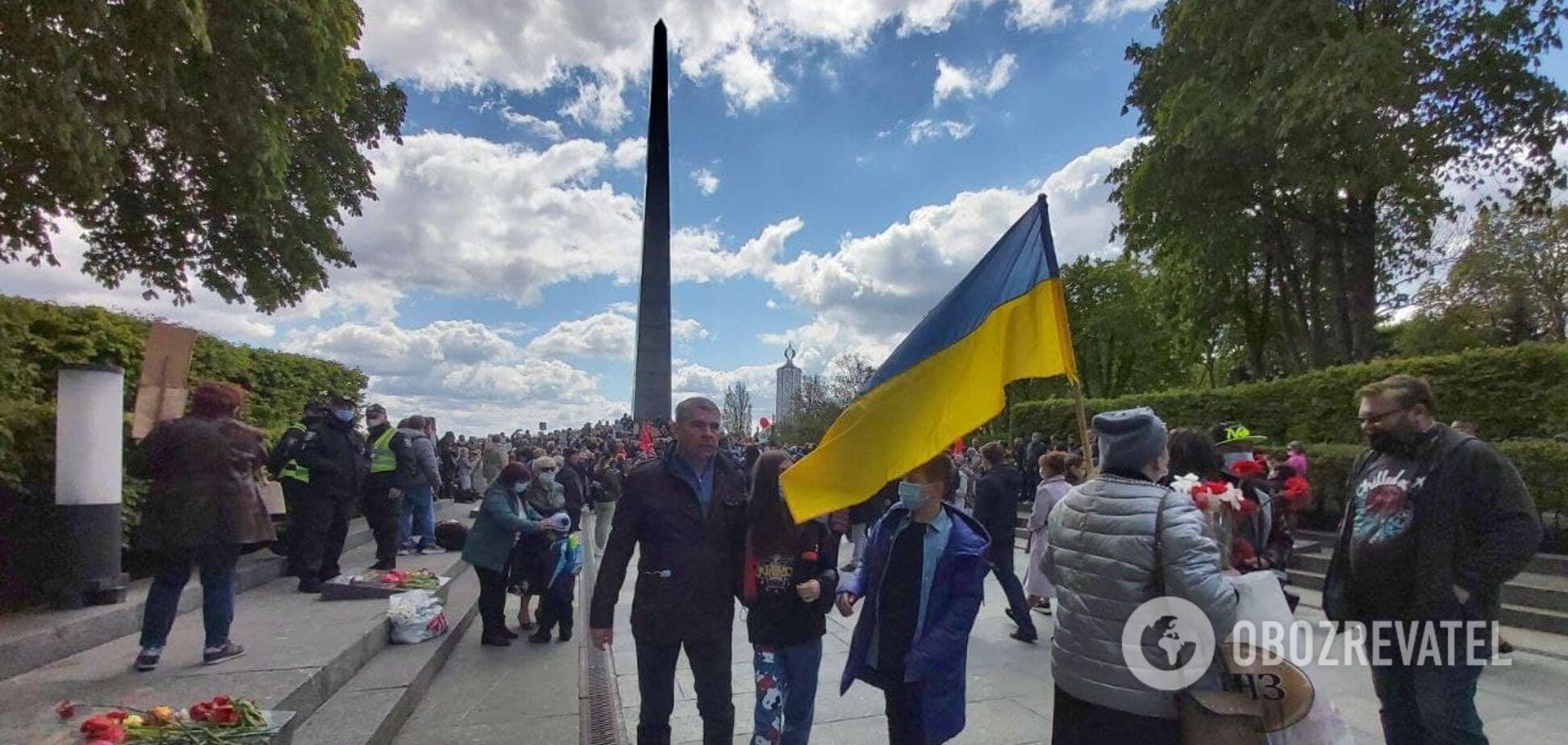 Як Київ відзначав день перемоги над нацизмом у Другій світовій війні