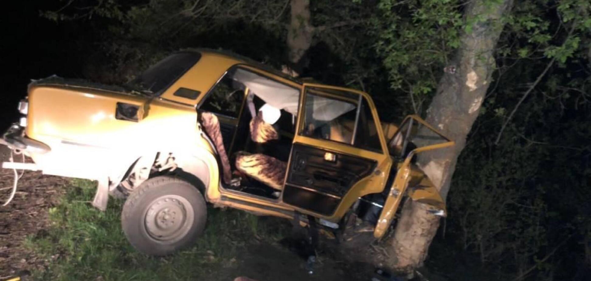 На Житомирщині в смертельному ДТП загинули чоловік і підліток