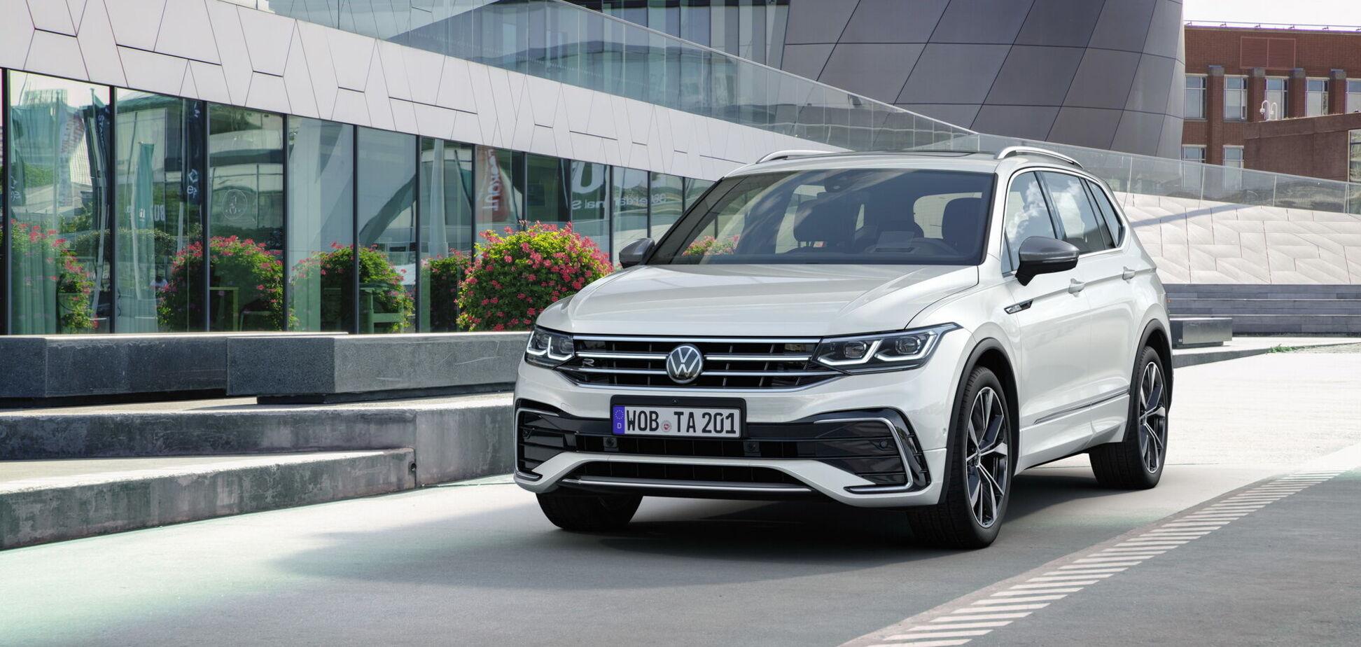 Volkswagen назвал цены на обновленный Tiguan Allspace