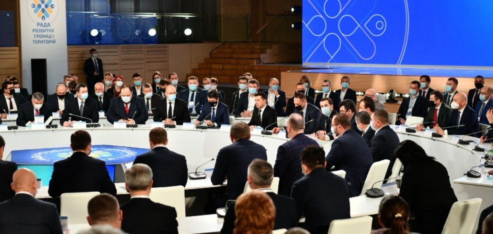 В Зеленского заявили о создании в Украине Конгресса региональных властей