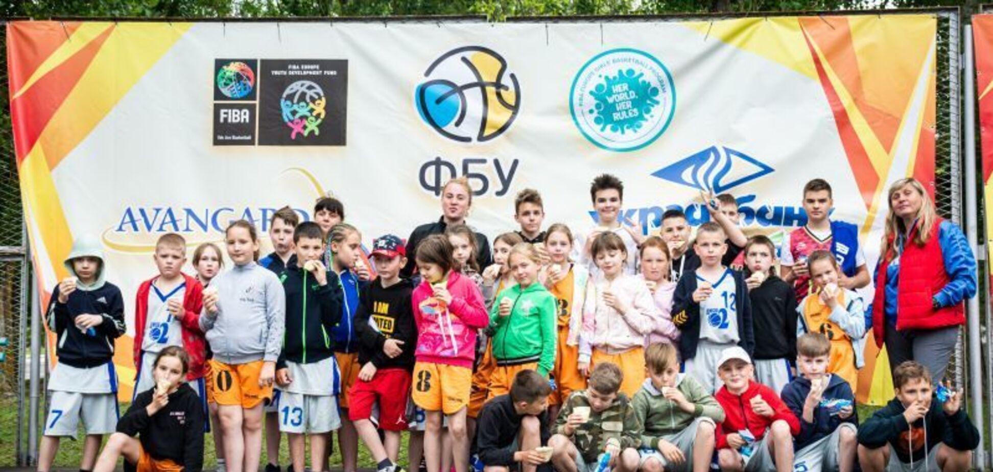 Первый день Фестиваля мини-баскетбола