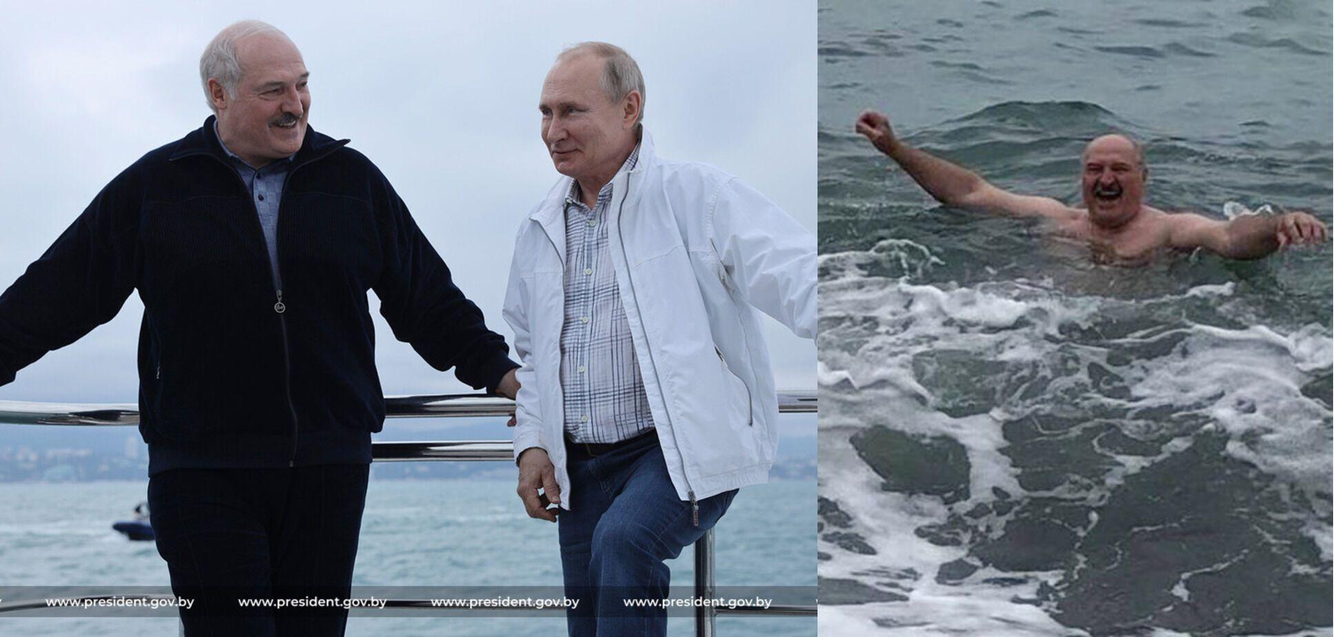 Мокрий сатрап. Навіщо Лукашенко поліз у Чорне море