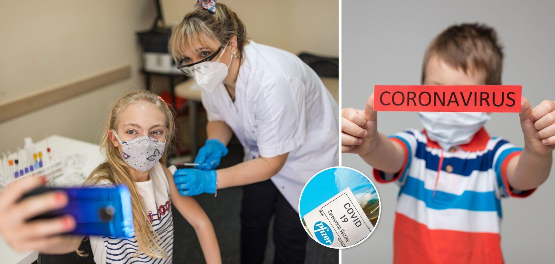 Вакцинация против коронавируса детей
