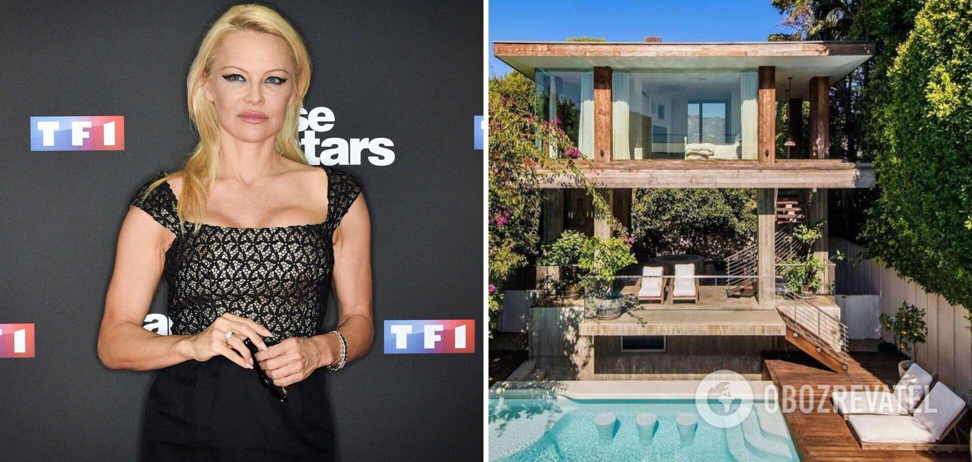 Памела Андерсон продає розкішний особняк в Малібу