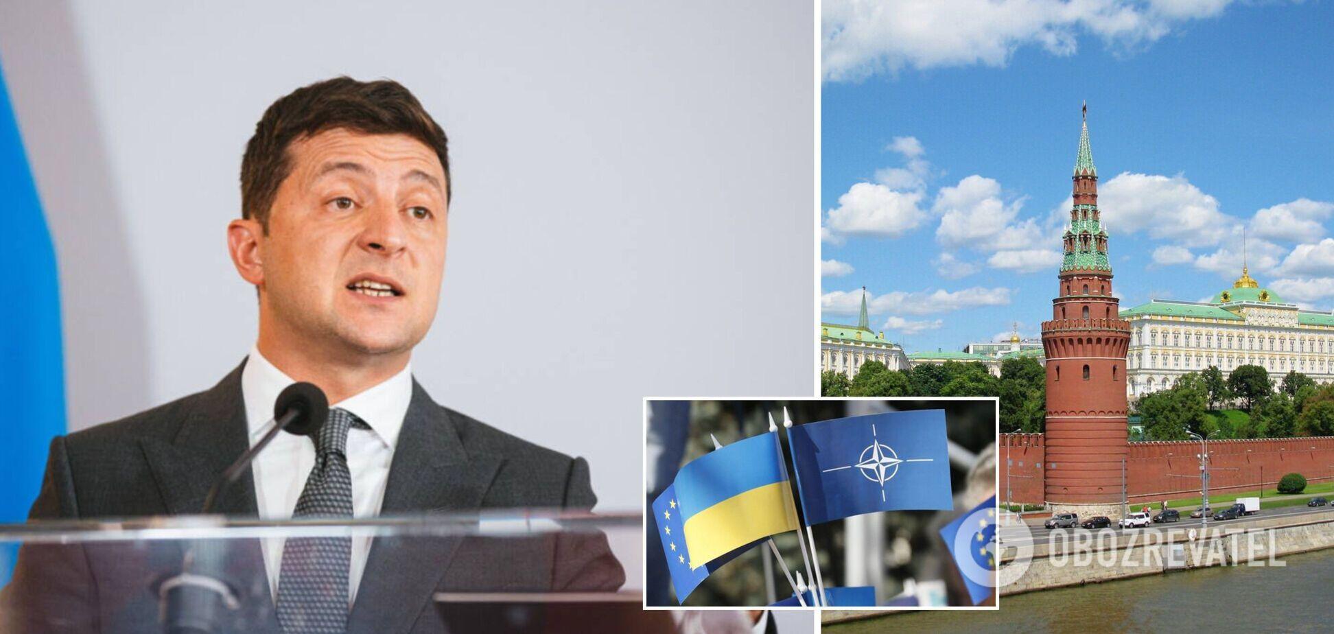 Угроза 'блицкрига', план 'Б' по НАТО и флеш-рояль в руках РФ. Главное из интервью Зеленского