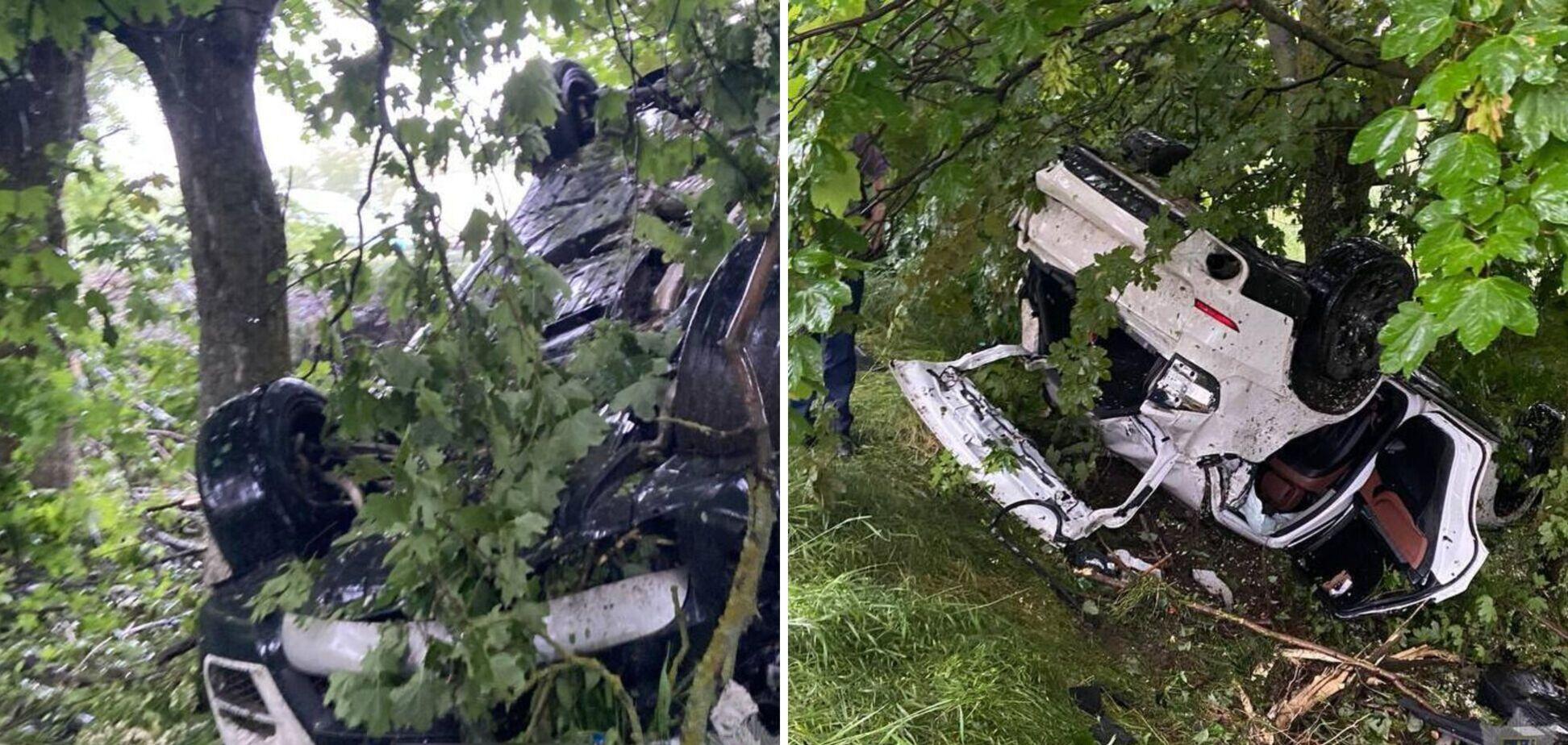 Під Миколаєвом 16-річний хлопець розбив BMW: у ДТП постраждали підлітки. Фото