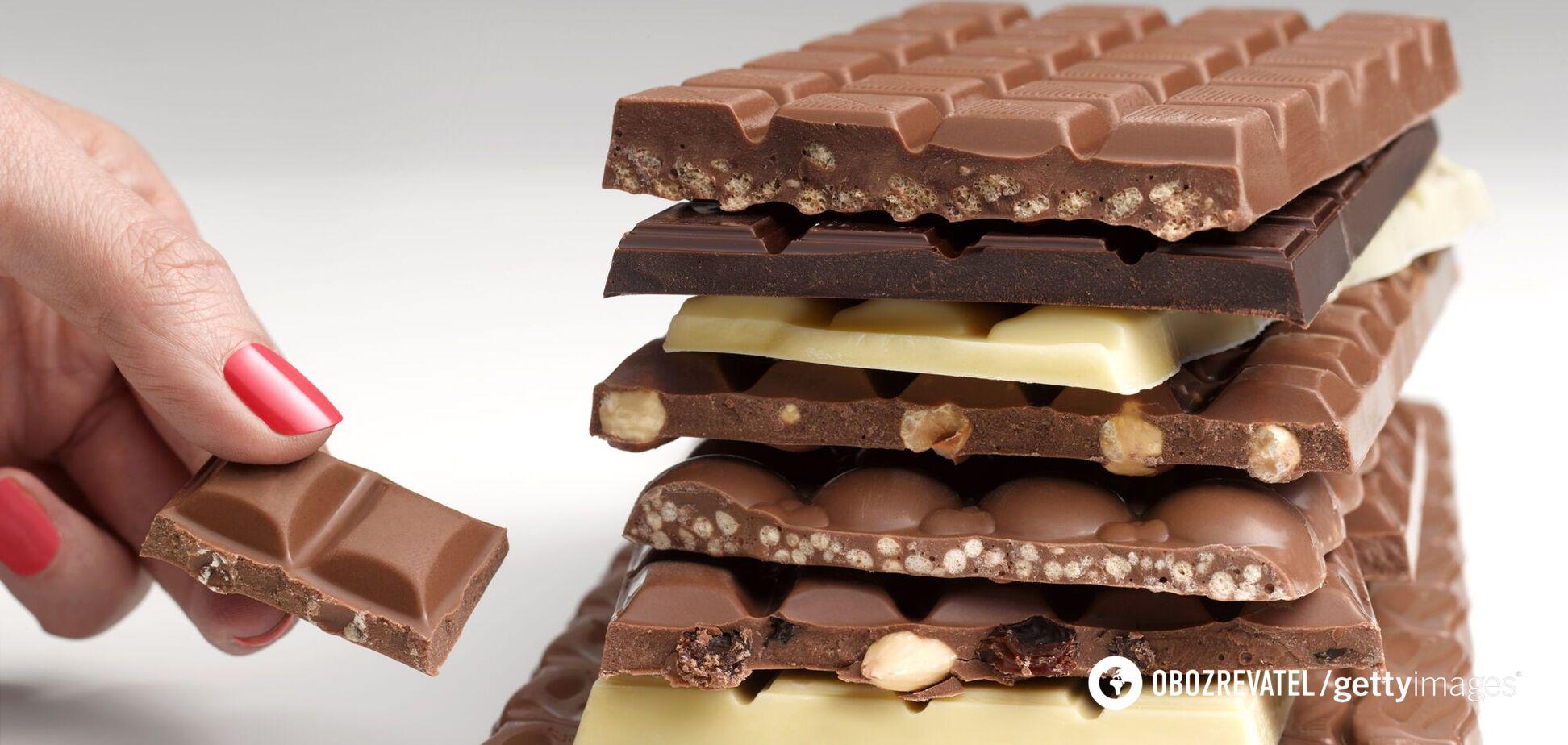 Шкідливий шоколад: чи можна дітям і який