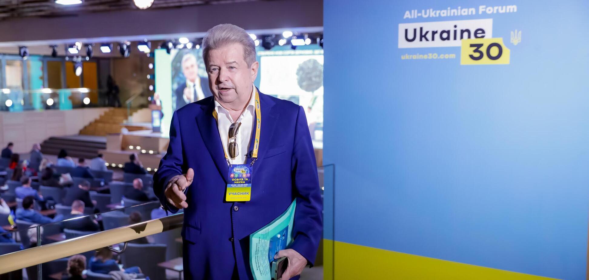 Поплавський – на форумі 'Україна 30': Університет культури педагогічно й технічно виявився готовим до COVID-19