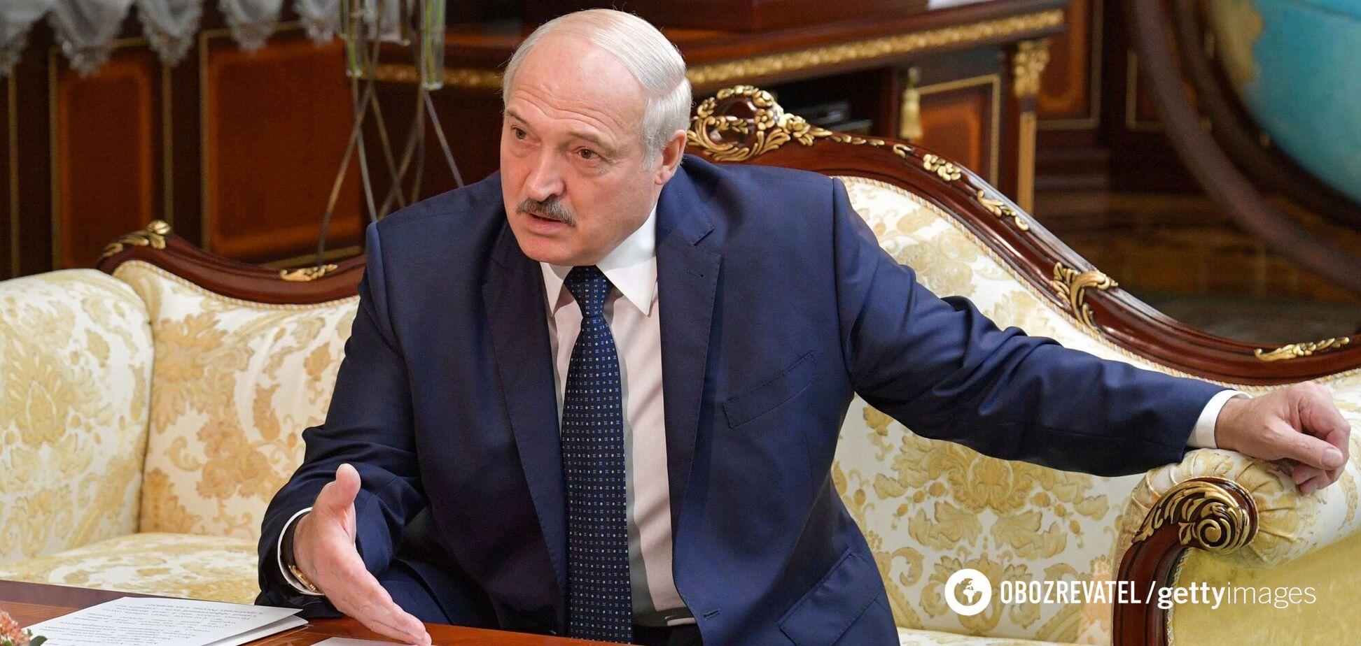 Нелегитимный президент Беларуси Александр Лукашенко