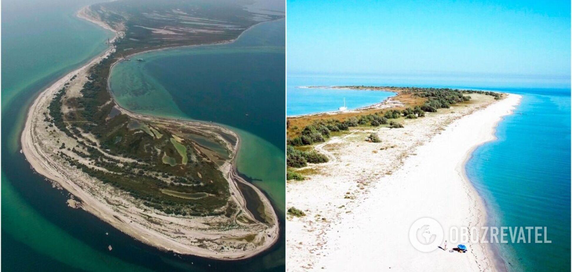 'Мальдіви', Березань, Тендра: найкращі пляжі-острови України, де варто побувати. Фото і відео