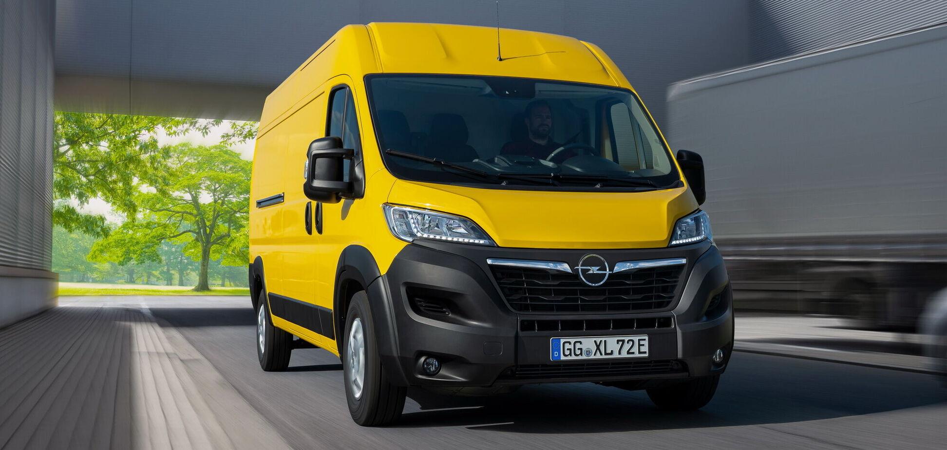 Opel представив нове покоління фургона Movano