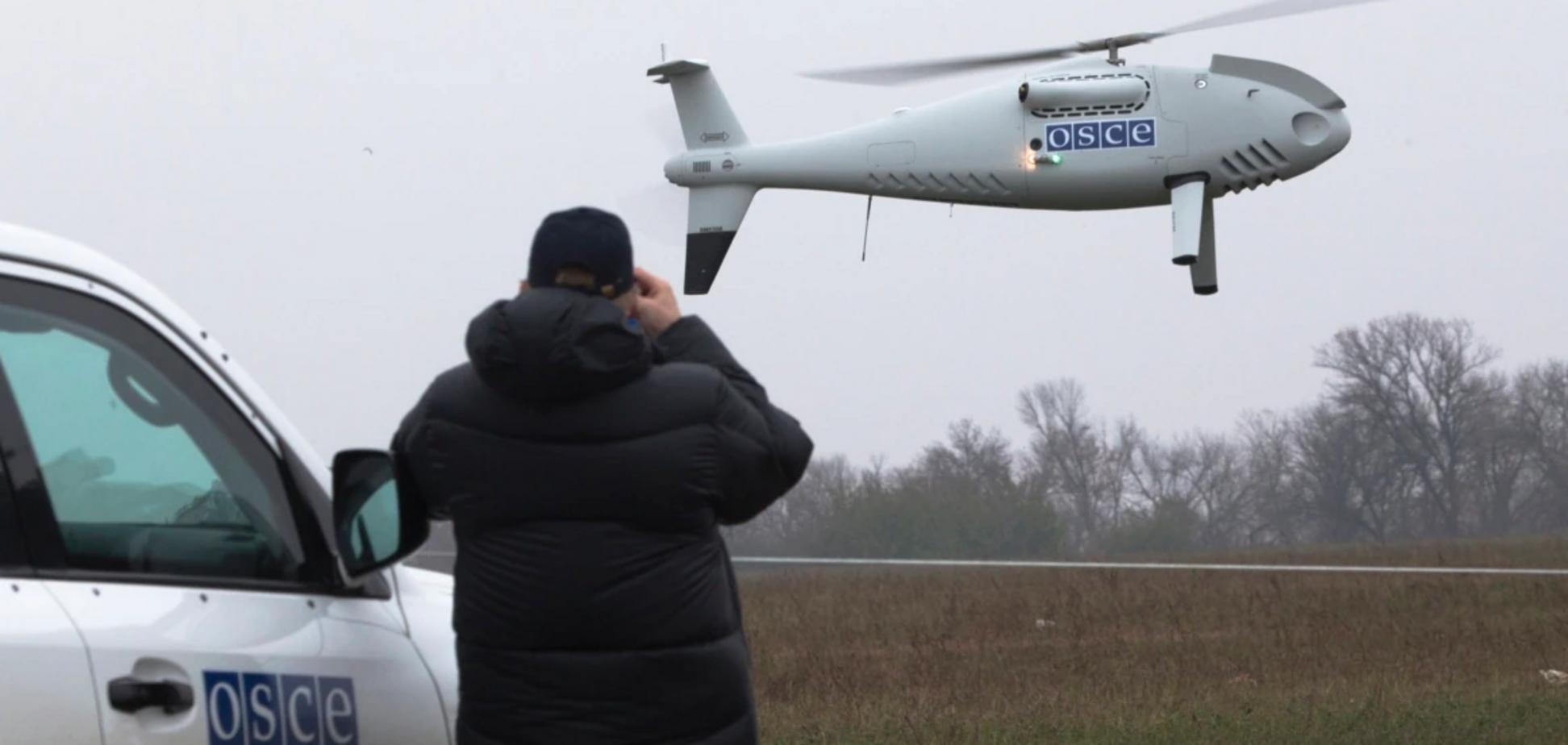 Безпілотник спостерігачів ОБСЄ обстріляли на Донбасі