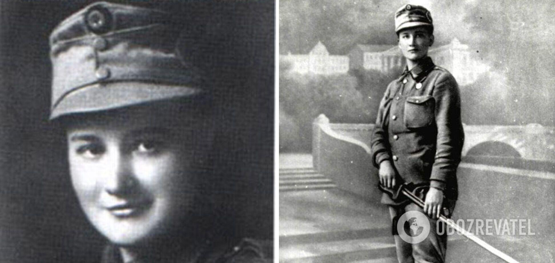 Первая в мире женщина-офицер Елена Степанив
