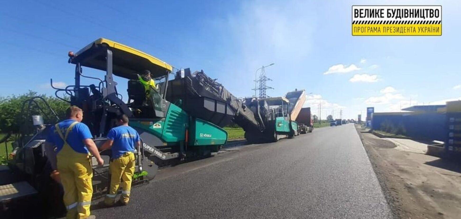 На Волыни продолжается восстановление участка автодороги Н-22 Устилуг – Ривне